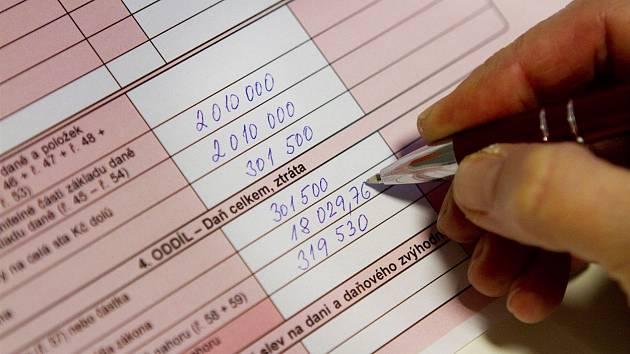 اظهارنامه مالیاتی را در جعبه بیندازید